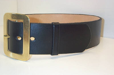 2 1 2 inches wide santa belt with our solid brass buckle